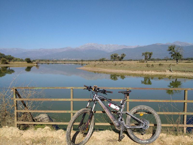 Ruta en bicicleta eléctrica en Gredos - Candeleda – Observatorio de Aves