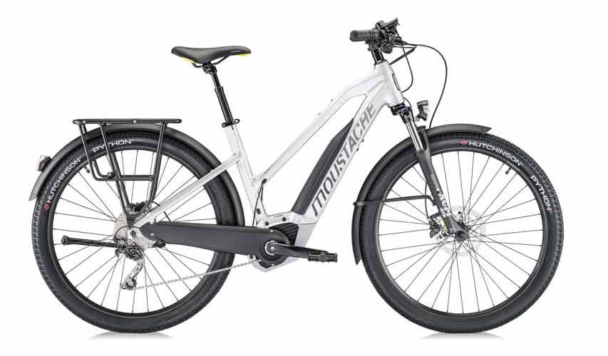 La Moustache Samedi 27 Open Xroad 3, una bicicleta polivalente con motor eléctrico