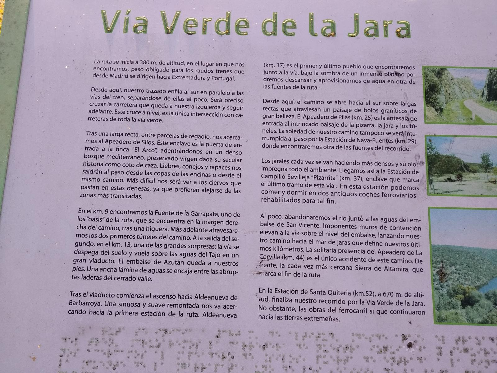 Alquiler bicicletas eléctricas en la Vía verde de la Jara